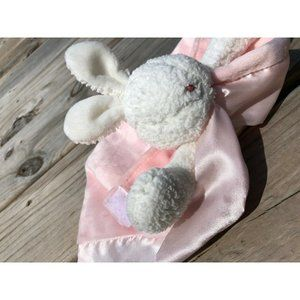 Bunnies by Bay Pink Lovey Security Blanket Bunny